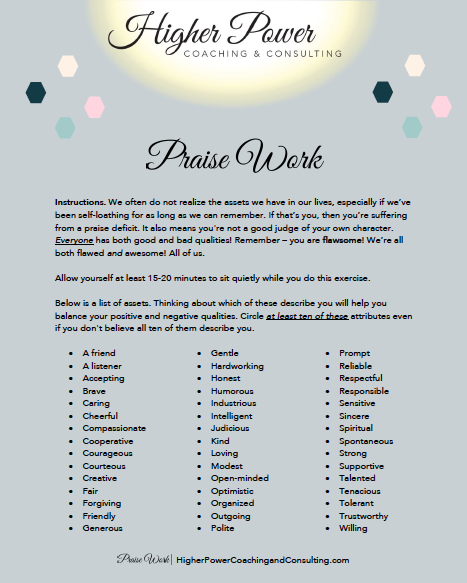 Praise Work Downloadable PDF